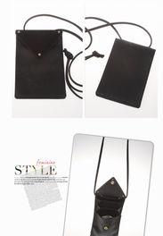 韩版2014新款搭扣迷你小包手机零钱黑色百搭包