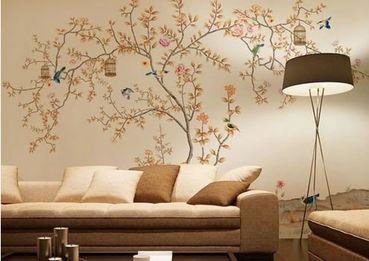 沙发背景墙-就是这么随心所欲 DIY彩绘背景墙