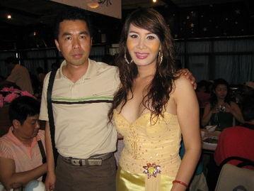 ...光掠影之泰国的人妖 相片