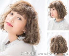 ...5最新女生短发波波头发型图片 6