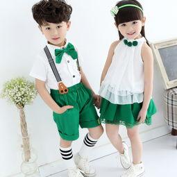 小学生校服款式图片