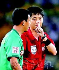队的比赛则安排国产裁判员王迪执法.