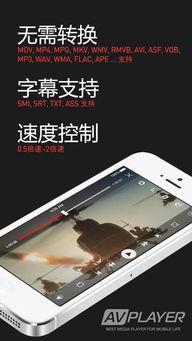 ...VPlayer播放器下载 AVPlayer播放器iPhone版下载 v2.5.0 中文免费版