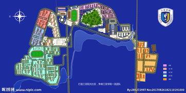海南大学三亚学院学校平面图图片