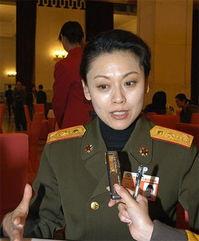 政协委员刘敏接受记者采访