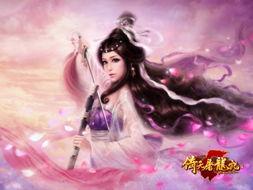 紫衫龙王黛绮丝在原著中是绝顶的美女,为了将她的风采展现,美术团...