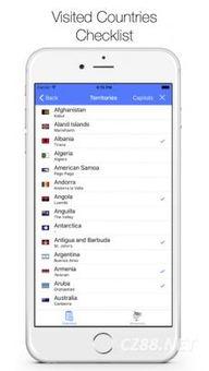 List of Countries Atlas App V 2.6.1