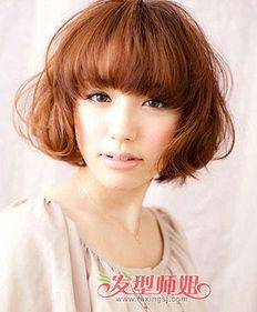 方脸适合哪种刘海 方脸女孩适合的刘海发型图片 发型师姐