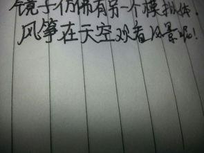 描写风的名句-风筝 镜子 仿写句子