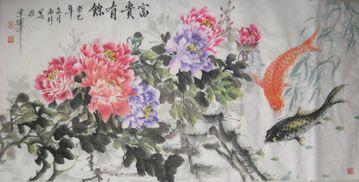 注:银粉金鳞、葛中紫、玉楼点翠、锦袍红,均为牡丹花的不同品种....
