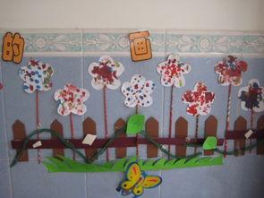 幼儿园环境布置照片 358