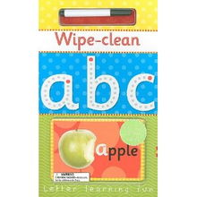Wipe Clean ABC Letter Learning Fun