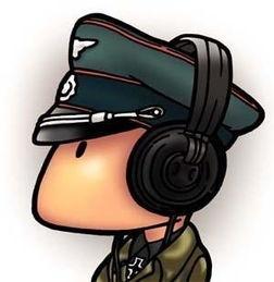 可爱有趣的军人卡通原创头像放送,军迷福利来啦 yfkjjj