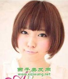最新女生长直发和短直发发型