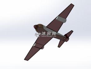 玩具飞机设计模型图