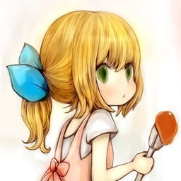 小清新动漫女孩