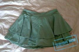 M:腰围72 臀围86 裙长33(适合平时穿26-27裤子的mm)-灰色学院风...