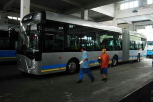 北京 新款公交电车亮相