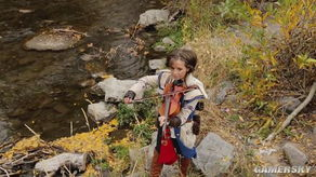 ...提琴美女扮演 刺客信条3 康纳