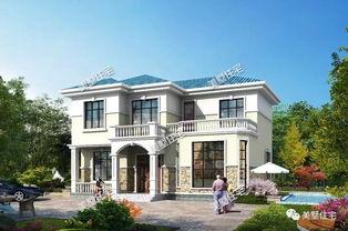 13.3X9.5米二层别墅设计图,外观美布局赞,20来万就能建