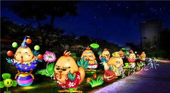 ...看灯会了 南岸游乐园新春灯会18日开幕