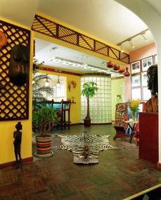 东南亚风格客厅隔断装修效果图大全2015图片-东南亚风格效果图