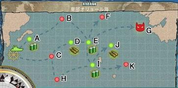 1同样掉落稀有驱逐舰巻云.   重点值得注意的是,本地图的BOSS点掉...