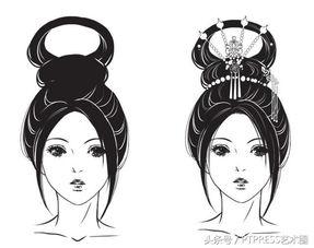 古装女子发型绘制技巧汇总,15种古风发型供你选