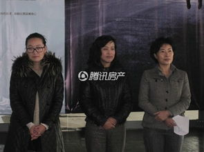 右起兆嘉地产王总经理王宁、15库创意产业园钟经理、大连青年摄影家...