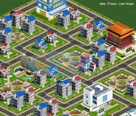 ...图 猫狗大战 网页游戏中的高楼大厦