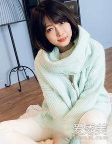 最新韩国女生流行发型 中短发最时髦