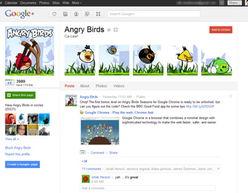 Google+品牌页面(腾讯科技配图)-美SNS品牌页对比 Google 吸引力...