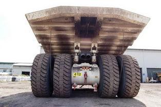...海尔T282B不仅是世界上最大的柴油机动力驱动的双轴四轮卡车,它...