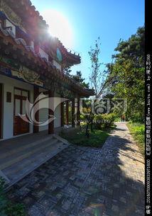 北京大学校园风光北大古建筑