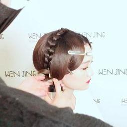短发变长发 ~ 中式新娘造型教程【文静造型】出品#中式新娘造型##中...