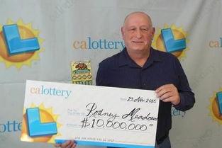 美加州男子用彩票奖金买彩票 再中千万美元