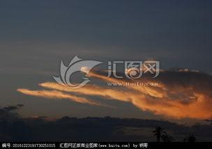 天运洪荒,天空云彩,自然风景,摄影,汇图网